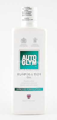 Autoglym Bumper & Trim Gel IMPROVED FORMULATION plastic restorer, Free UK P&P