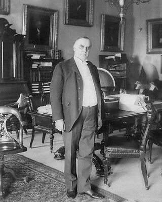 1898 25nd US President WILLIAM MCKINLEY Glossy 8x10 Photo Political Print Poster
