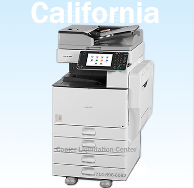 Ricoh MPC5502,MP C5502 color copier, printer, scan, 55ppm, very low meter