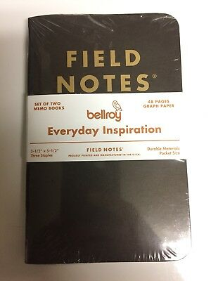 Bellroy Field Notes 2 Pack Sealed Everyday Inspiration