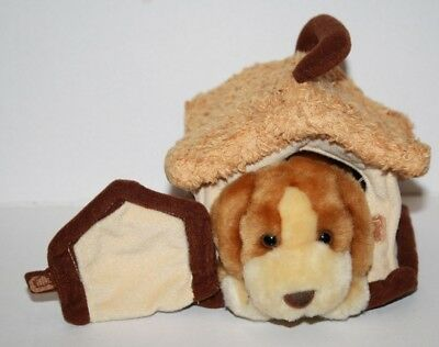 """Animal Alley DARBY DOG 6"""" Small Plush Puppy Soft Toy HOUSE Stuffed Toys R Us"""