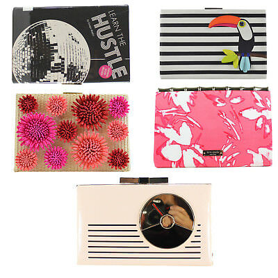 NWT Kate Spade BOOK OF THE MONTH Emanuelle Evening Clutch Bag