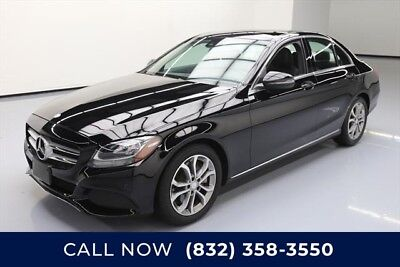 Mercedes-Benz C-Class C 300 Sport 4dr Sedan Texas Direct Auto 2017 C 300 Sport 4dr Sedan Used Turbo 2L I4 16V Automatic RWD