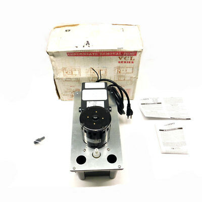NEW Little Giant Pump Company VCL-24ULS Automatic Condensate Removal Pump