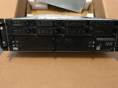 Chenbro RM315 3HE Server Gehäuse RM31508 mit 8 Port 6G miniSAS Backplane