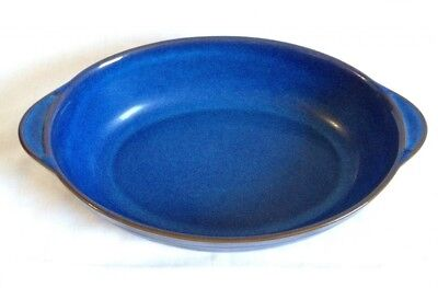 Denby Imperial Blue Oval Dish (Used)