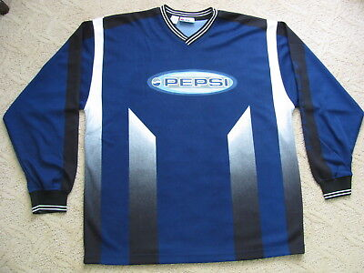 Lot of 10 BRAND NEW PEPSI Soccer Goalie Jerseys: M or XL (Your Choice)