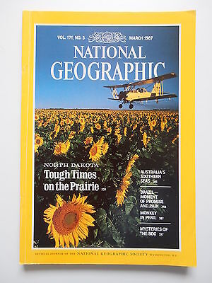 National Geographic Magazine March 1987