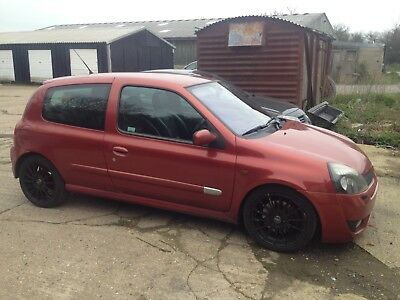 Clio 172 Renault 2.0 flame red sport 182 track car
