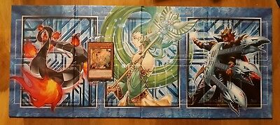 tapis de jeu yu gi oh Collection Légendaire Kaiba + cartes promotionnelles lc06