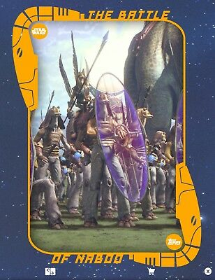 BATTLE OF NABOO #5 STANDARD BATTLEFIELD JAR Topps Star Wars Digital Card Trader