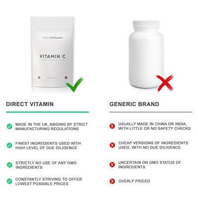 Vitamin C 1000mg with Rosehip & Bioflavanoids Tablets - FREE 1st Class Delivery
