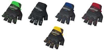 "Jet Pilot ""short Finger"" 3/4 Gloves Neoprene Jet Ski Pwc - Choose Size & Color"