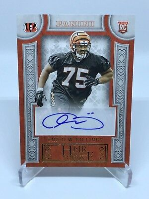 2016 Panini Football Andrew Billings RC Heir to the Throne #HT-AB Bengals