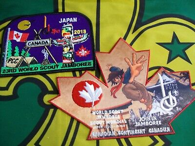 23rd World Scout Jamboree  Canadian Scout badges