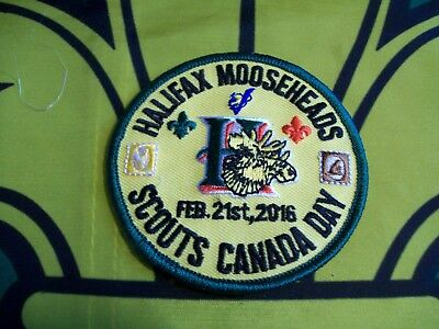 Halifax Mooseheads Scouts Canada Day 2016 Canadian Scout badge