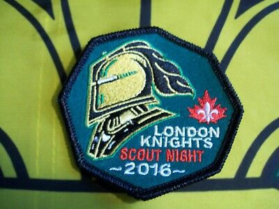 London knights Scout Night Canadian Scout badge