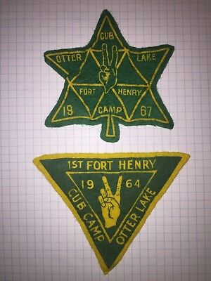 Scouts Canada 1st Fort Heny Heights Cubs Otter Lake 1964,1967