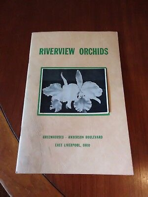 Vintage 1950? Orchid Catalog Riverview Greenhouses East Liverpool Ohio
