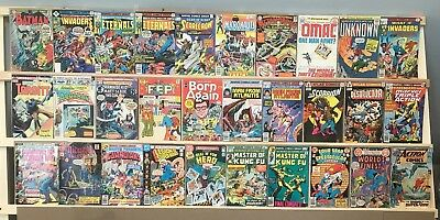 Huge Comic Book Lot: 30 Vintage, Old Reader Lot or Better! Batman, Action + More