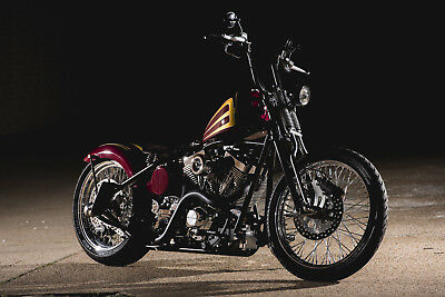 2016 Custom Built Motorcycles Bobber  Three Two Choppers Custom Bobber