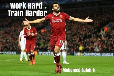 Mohamed Salah Liverpool Poster Print Photo Picture A2 A3 A4 A5