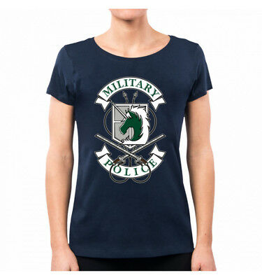 T-Shirt Donna Military Police Attack On Titan Op0036A Pacdesign