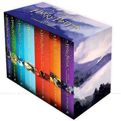 Harry Potter The Complete Collection by J.K. Rowling Children 7 Books Box Set