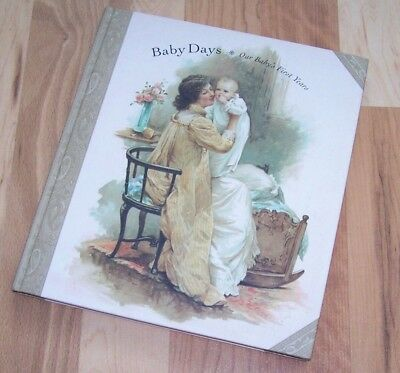 NEW Baby Memory Book VICTORIAN Baby Days A. Neally Dutton Waugh Bennett Andrews