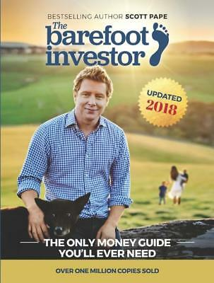 The Barefoot Investor by Scott Pape - Brand New - Updated 2018 Edition