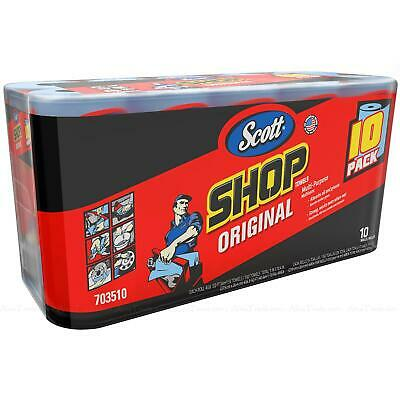 Scott Multi Purpose Kimberly Clark Shop Cleaning Paper Wipe Towels 10 Rolls Pack