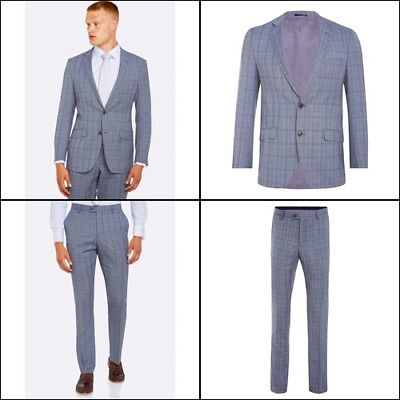 New Hopkins Wool Suit Jacket P With Matching Trousers Mens Suits