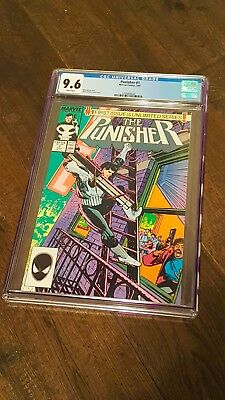 Punisher #1 (1987) - Cgc 9.6 - White Pages - Marvel Comics