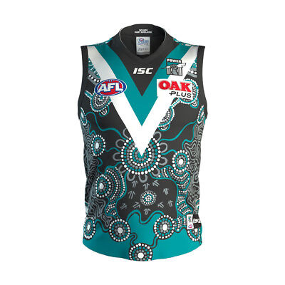 Port Adelaide Power AFL 2018 ISC Indigenous Guernsey Adults Sizes S-3XL!