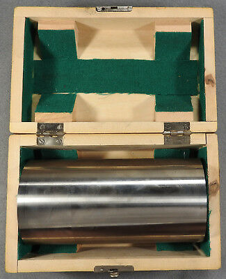 "52-750-006 6"" Fowler Precision Cylindrical Cylinder Square, with wooden box"