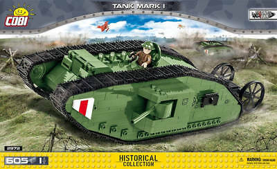 Cobi 2972 WW1 Panzer - Tank Mark 1 - Historical Collection - NEU / OVP