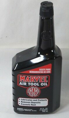 Marvel Mystery MM85R1 Air Tool Oil 32 oz, Bottle, Red, Thin