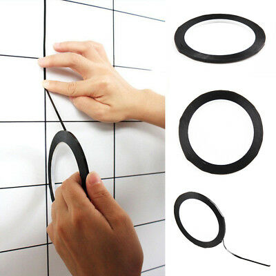 Self Adhesive Whiteboard Grid Gridding Marking Tape Non Magnetic Fine 3mm Black