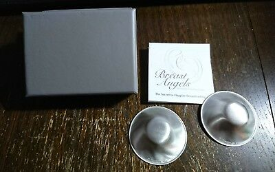 Silverette Nursing Cups - Soothing Sore Breasts or Cracked Nipples with Silver