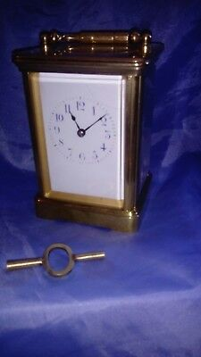 A Fine French Chiming Carriage Clock