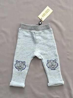 NWT KENZO Kids BABY BOYS BLUE TRACKSUIT BOTTOMS 12 months/ 1 SZ 18 months