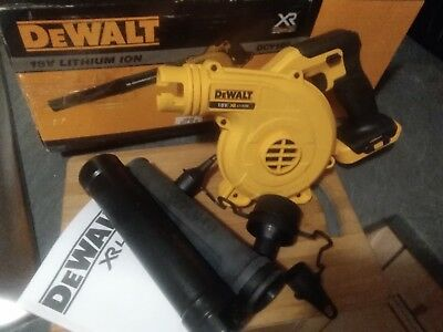 Dewalt 18v DCV100 compact workshop/Garden blower... Body only