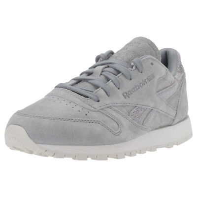 Reebok Classic Leather Shimmer Donna Grey Silver Scarpe  - 7 UK