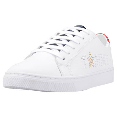 Tommy Hilfiger Tommy Star Metallic Sneaker Donna White Red Scarpe  - 37 EU