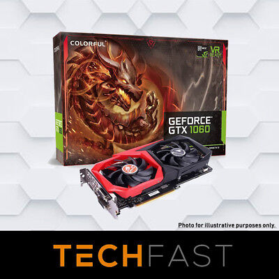 Colorful GeForce GTX 1060 NB 6GB GDDR5 Graphics Card