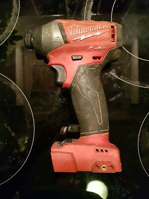 Milwaukee M18Fid-0 18V Fuel Brushless Impact Driver Runs Excellent
