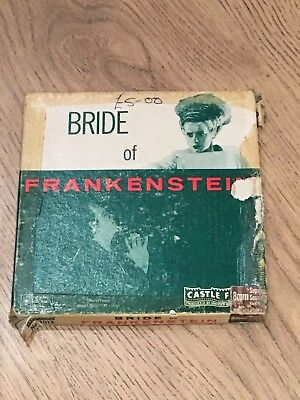 Bride of Frankenstein Super 8 8mm film reel
