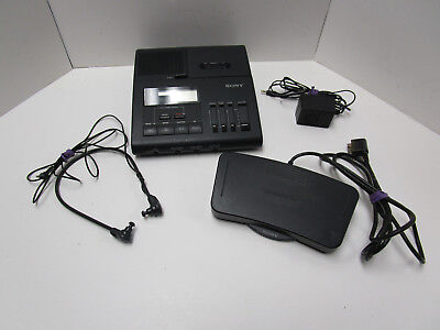 Sony Microcassette Transcriber With Foot Pedal/control  Model 8M-840