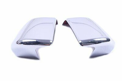For Ford F150 2015-2018 Chrome Rear View Side Mirror Cover Overlays Trim