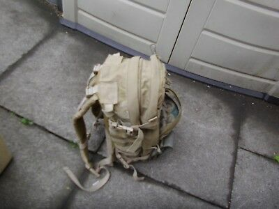 tan molle pack, warrior assault systems  +  plus   free